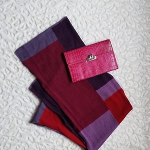 Color Block Knit Scarf [Fraas]